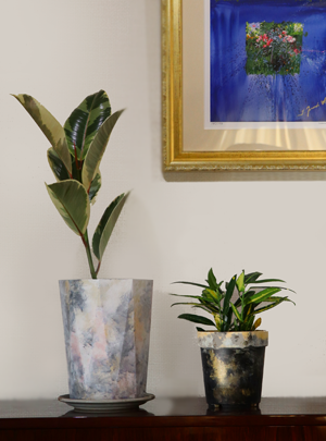 植木鉢 プランター ペイント リメイク