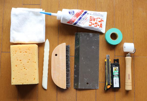 壁紙貼り替えに必要な道具